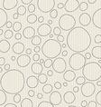 Simple contour circles vector image