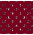 Seamless pattern of royal lilies vector image vector image