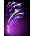 Neon background vector image