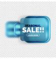 square shape sale button label tag vector image