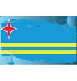 aruba national flag vector image vector image