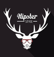 Hipster lifestyle design vector image