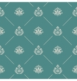 Wallpaper in royal baroque style vector image vector image
