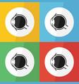 eye icon flat design vector image