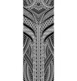 art deco geometric pattern vector image