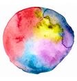 watercolor spot vector image
