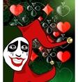 gambling background vector image vector image