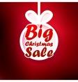 Christmas Sale card EPS10 vector image
