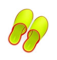 Slippers vector image vector image