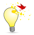 Light bulb concepts vector image
