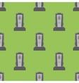 Gravestone Seamless Pattern Grey Stone Monuments vector image