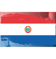 Paraguay national flag vector image