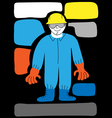 protective workwear vector image vector image