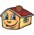 house cartoon vector image