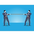 Fight for market share business concept vector image