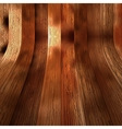 Wood plank brown texture background  EPS10 vector image vector image