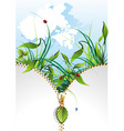 natural banner vector image vector image