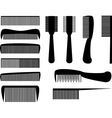 Hair Combs vector image