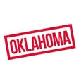 Oklahoma rubber stamp vector image