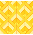 Bohemian Gold Bright Pattern Background vector image