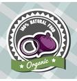 Natural Food 10 vector image
