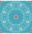 Seamless ornamental pattern geometric mandaLA vector image