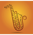 jazz warm background vector image