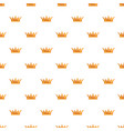 queen crown pattern seamless vector image