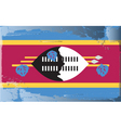 swaziland national flag vector image