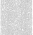 Wave lines with gaps gray seamless pattern vector image