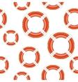 Lifebuoy background vector image