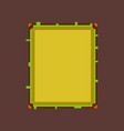 pixel icon in flat style sandwich vector image