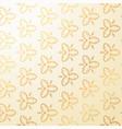luxury vintage floral decoration background vector image
