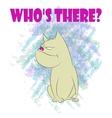 cartoon bulldog vector image