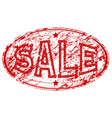 Sale rubber stamp vector image
