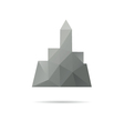 City icon isolated vector image vector image
