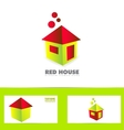 House home logo vector image