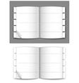 journal vector image
