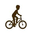 one bike sport vector image