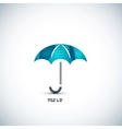 Protection umbrella icon concept vector image
