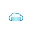 Cloud Logo Icon vector image