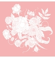 Pastel Floral vector image