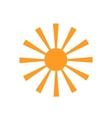 Sun Icon Sun Icon vector image