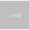 Volume adjustment computer symbol vector image