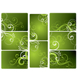 Decorative works for the text vector image