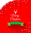 Abstract Christmas Greeting card vector image