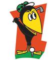 Bird Golf vector image