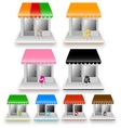 colorful home vector image