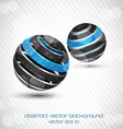 abstract sphere bckr vector image vector image