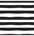 Black and white paint brushstrokes seamless vector image